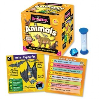 BRAINBOX ANIMALS (INGLÉS)