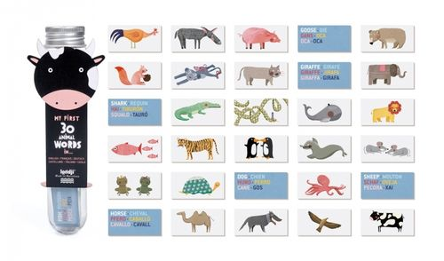 MY FIRST 30 ANIMAL WORDS IN...