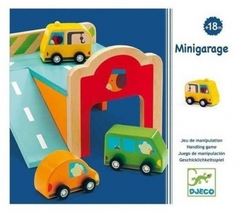 MINI PARKING MADERA DJECO